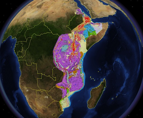 GEO ExPro - The East African Rift System – A View from Space