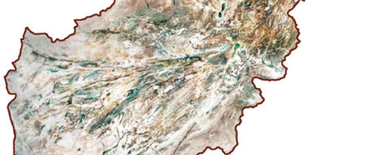 Afghanistan map satellite thumb