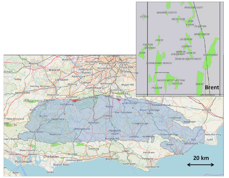 Map Of Uk Oil Fields.Geo Expro Unconventional Oil Amp Gas In The Uk