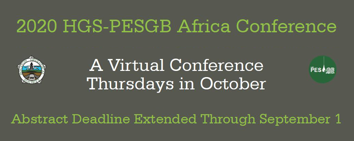 Hgs pesgb africa conference virtual 2020
