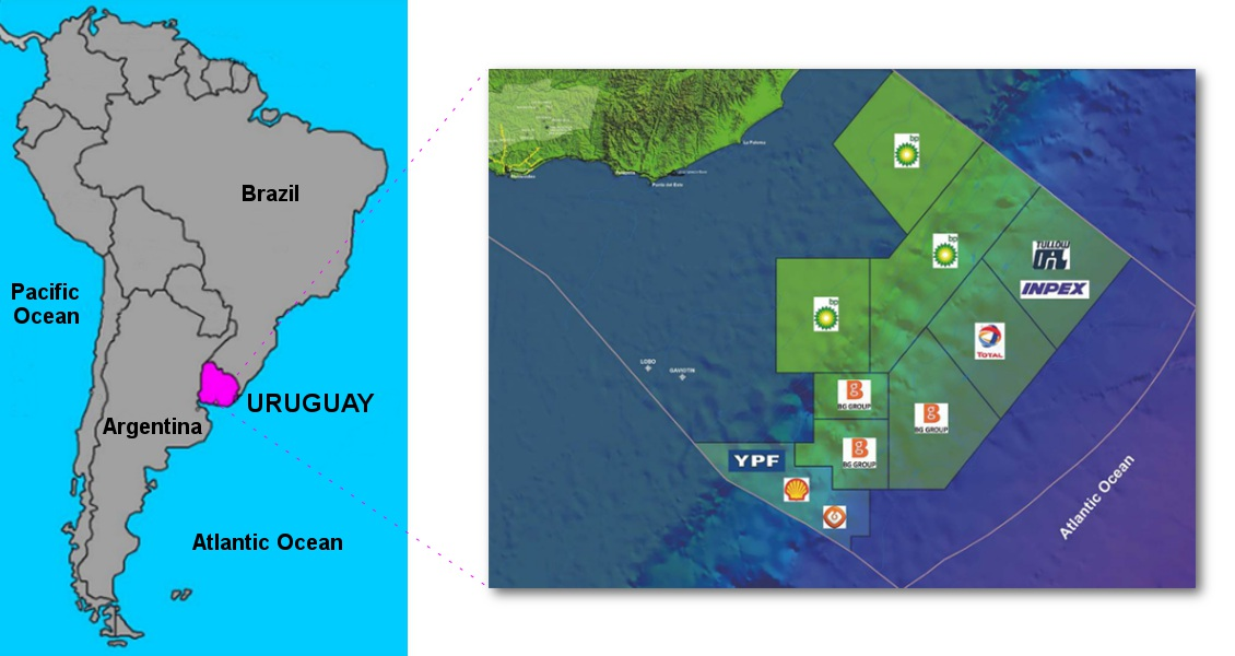 Geo expro uruguay small country big opportunities uruguay is dominated by a rolling plateau with ranges of small hills and is ideally suited to cattle and sheep ranches source courtesy of uruguay xxi sciox Choice Image