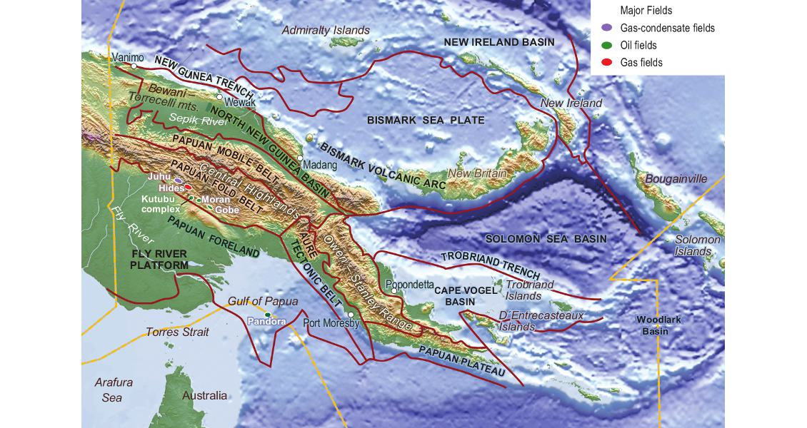 GEO ExPro  Waking up to Papua New Guinea