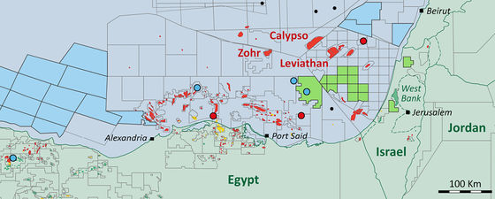 Gas exploration update 2020 east mediterranean hot spot nventures 2 thumb