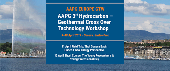 Aapg 2019 geothermal cross over technology workshop