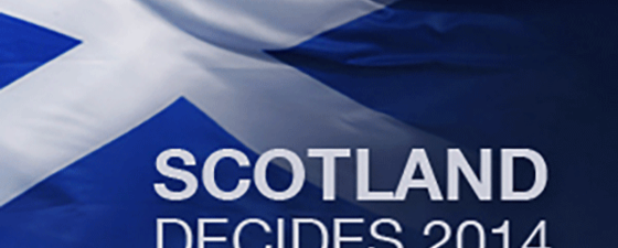 Scotland decides thumb