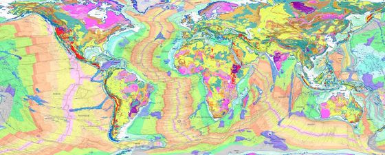 3d geological map world earth geological globe cgmw thumb
