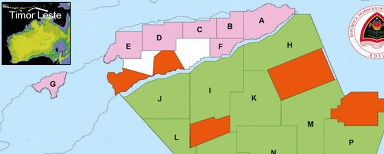 Timor leste 2nd oil gas licensing round 2 thumb