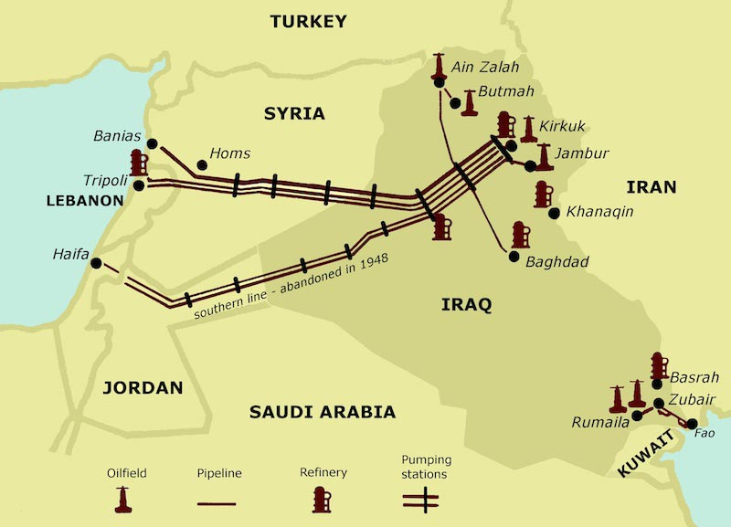 Geo Expro Once Upon A Red Line The Iraq Petroleum Company Story